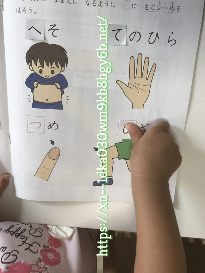 Z会幼児お試し⑯