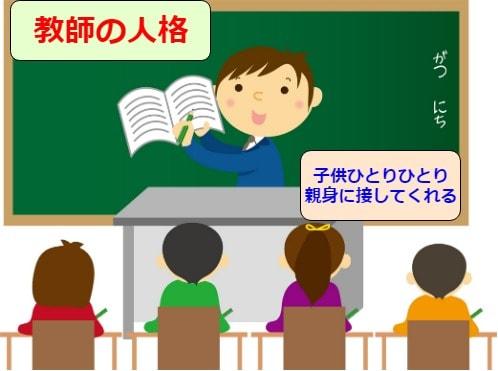 教師の人格
