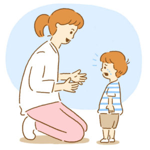 子供と話す
