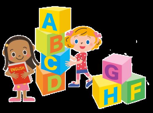 英語で話す子供
